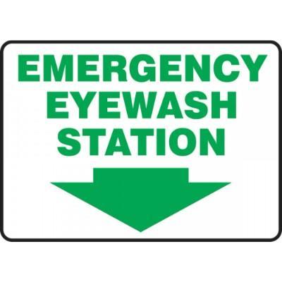 emergency eye wash station sign pdf