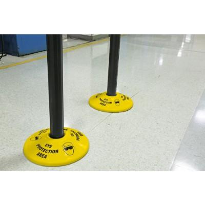 Eye Protection Area - Stanchion Post Base Cover