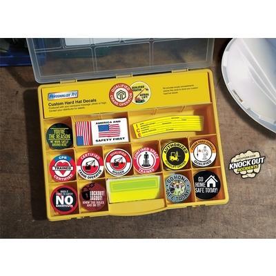 Hard Hat Sticker Kit