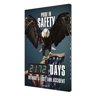 Pride in Safety _ Days Without a Lost-Time Accident (Eagle, Updated) Safety Scoreboard