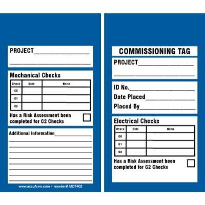 Project Commissioning Tag