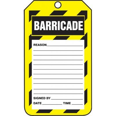 Barricade Tag (Reason)