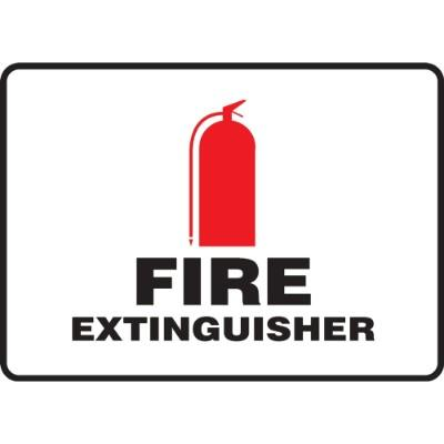 Fire Extinguisher Sign (Image Above)