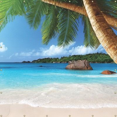 Tropical Island Welding Screen