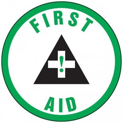 First Aid Hard Hat Sticker