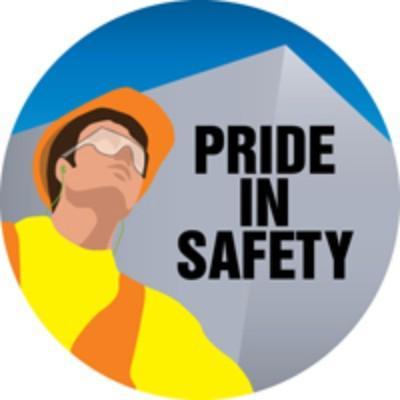 Pride in Safety Hard Hat Sticker
