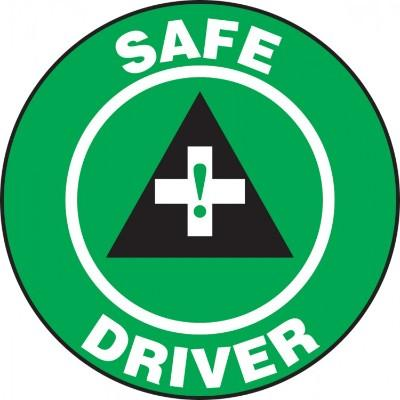 Safe Driver Hard Hat Sticker