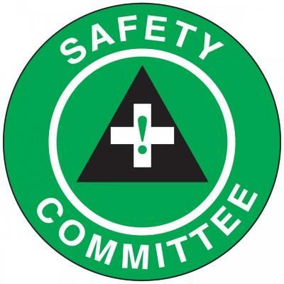 Safety Committee Hard Hat Sticker