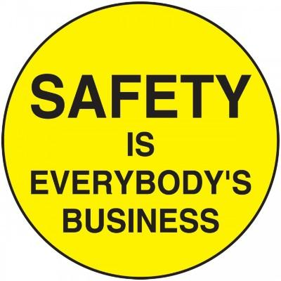 Safety is Everybody's Business Hard Hat Sticker