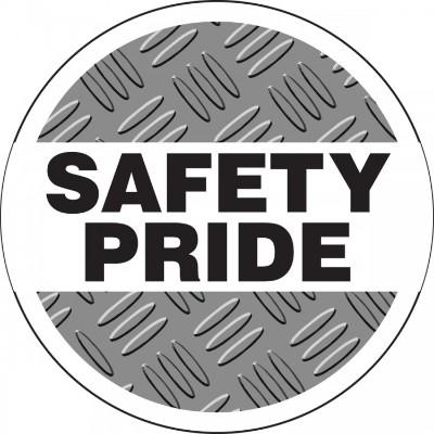 Safety Pride Hard Hat Sticker