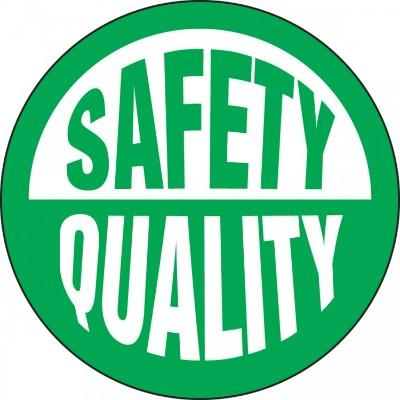 Safety Quality Hard Hat Sticker