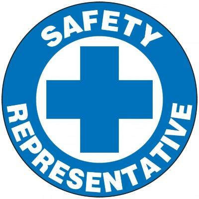 Safety Representative Hard Hat Sticker