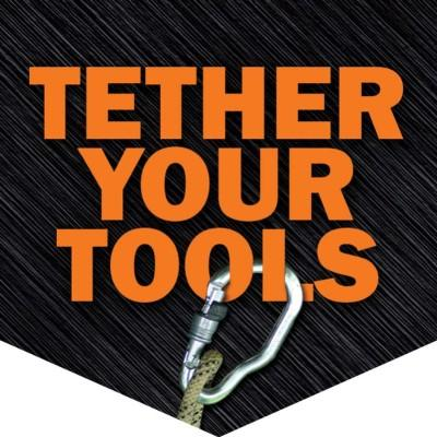 Tether Your Tools Hard Hat Sticker