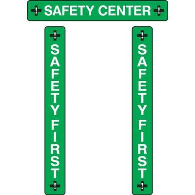 Safety Center - RAMS Board Title Plaque Set