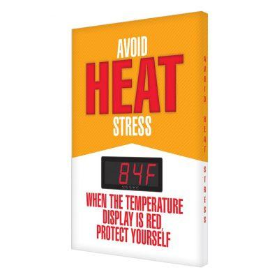 Avoid Heat Stress - Temperature Display Board