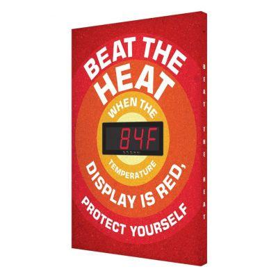 Beat the Heat - Temperature Display Board