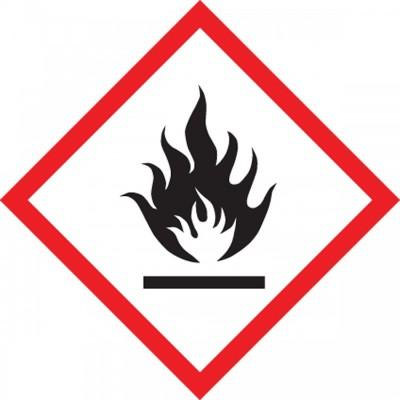 GHS Pictogram Label - Flame