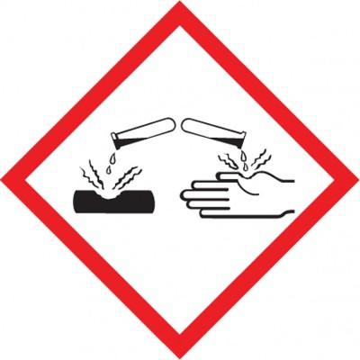 GHS Pictogram Label - Corrosion