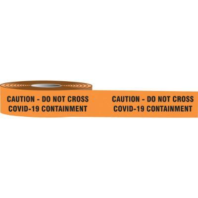 Caution - Do Not Cross COVID-19 Containment Barricade Tape