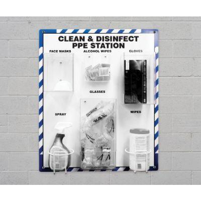 Clean & Disinfect PPE Station