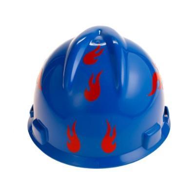 Universal Flame Style Hard Hat Viz-Kit