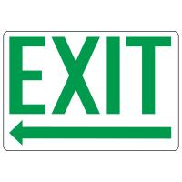Exit & Entrance Signs