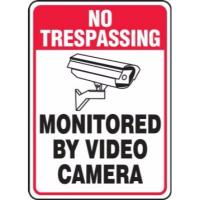 Security & Surveillance Signs