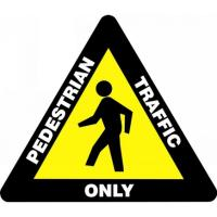 Triangular Floor Signs