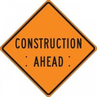 Roll-Up Construction Signs