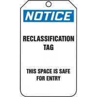 Confined Space Tags