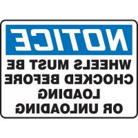 Traffic Industrial Signs