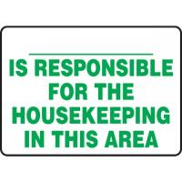 Housekeeping & Hygiene Signs