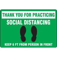Step & Mat Style Floor Signs