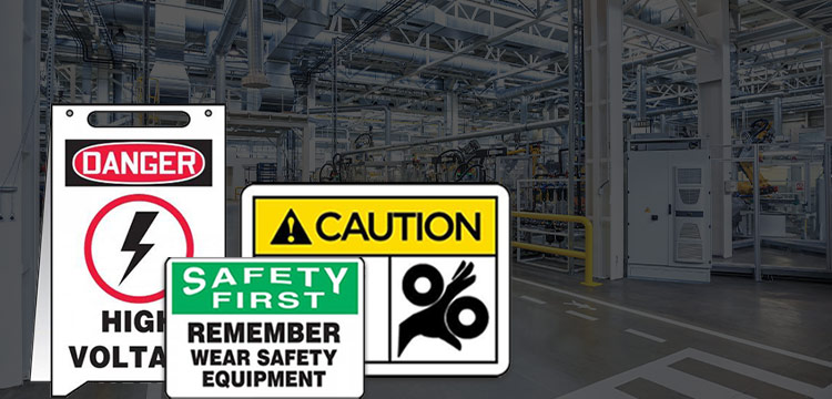 types of safety signs